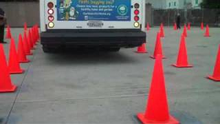 2009 AC Transit  Bus Roadeo - Bus driver Timothy Caldwell (Emeryville)