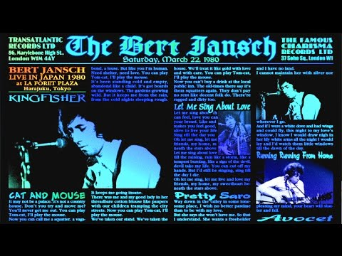 BERT JANSCH LIVE in JAPAN '80 -  22 March