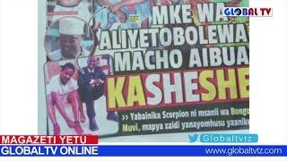 Magazeti Yetu Oct 8; Mke wa Aliyetobolewa Macho Aibua Kasheshe