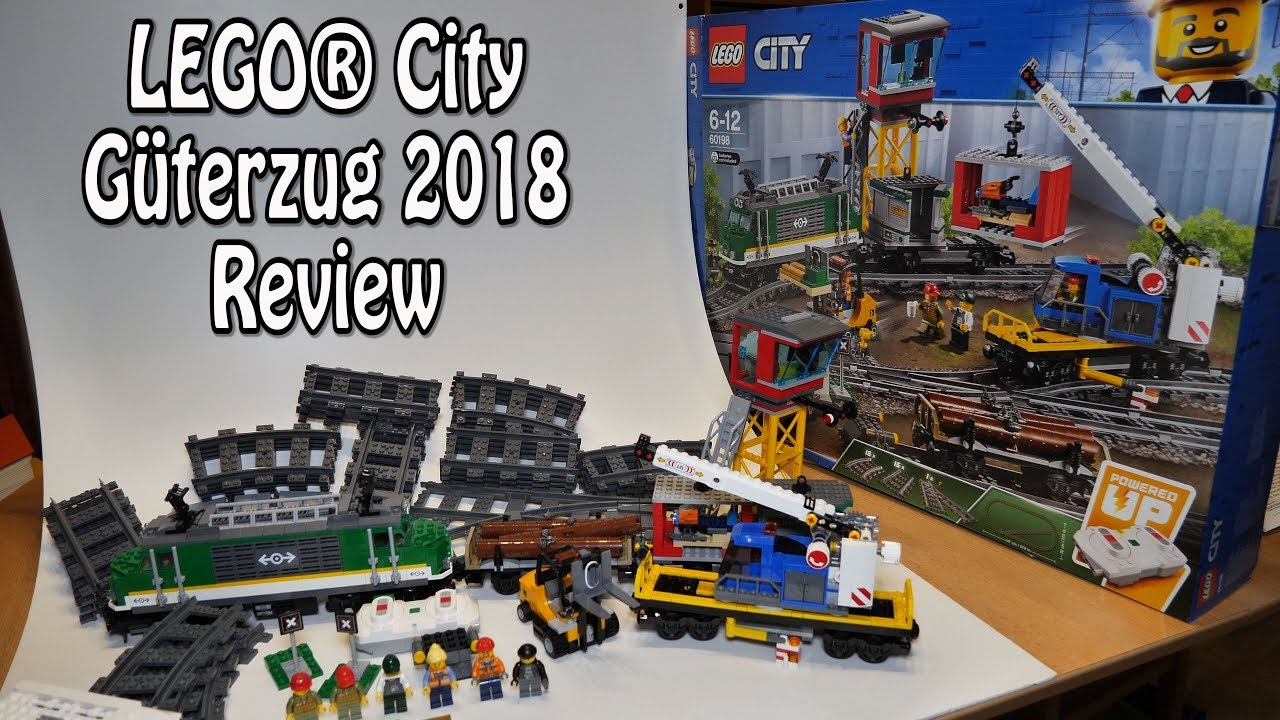 Review Lego Güterzug 2018 City Set 60198 Im Test Deutsch In 4k
