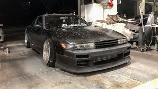 installing-the-v-speed-bumper-on-my-240sx