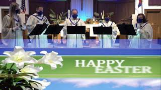 Day of Resurrection - Easter Handbell Quintet - Zion Church Mt Clemens - By Sandra Eithun