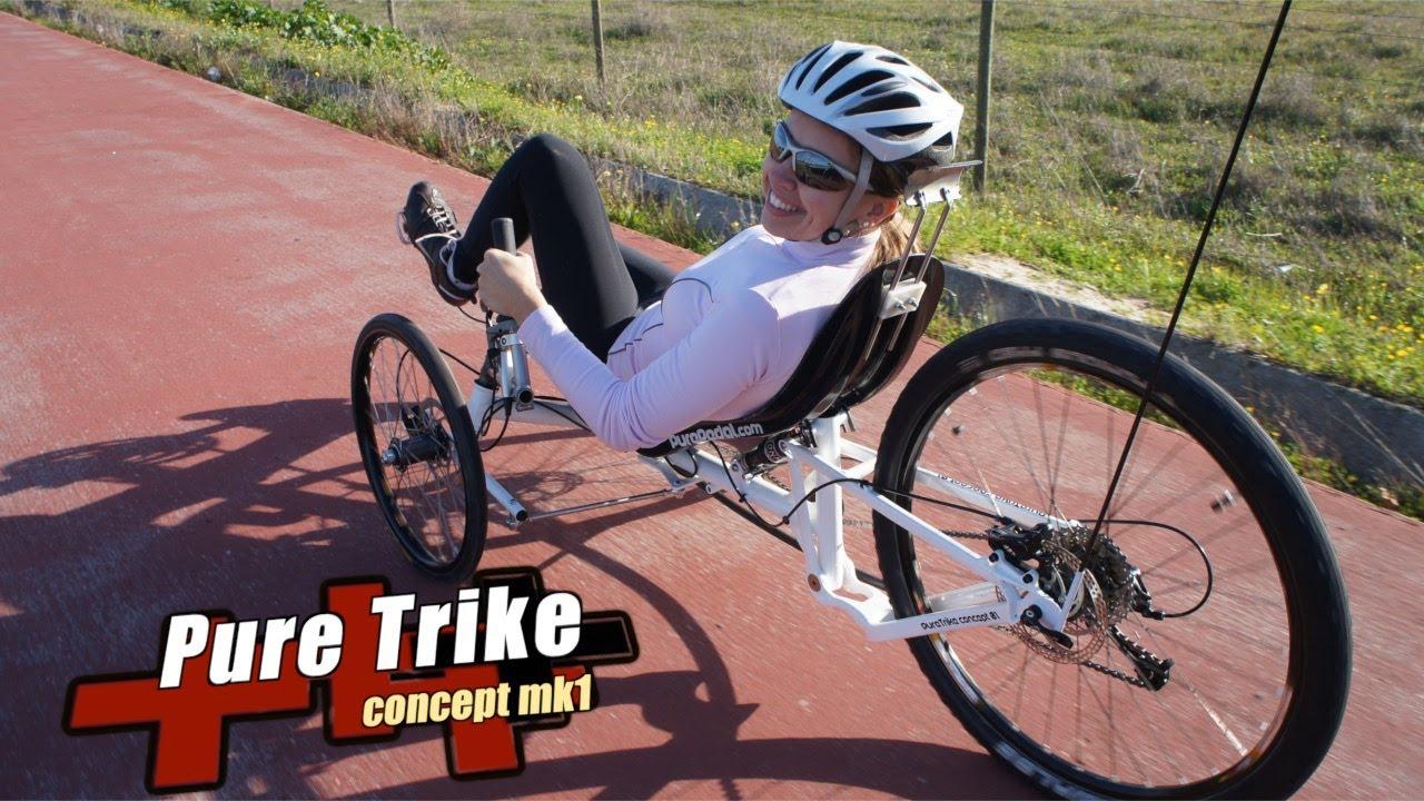 Recumbent Trike Concept Purepedal Com Youtube