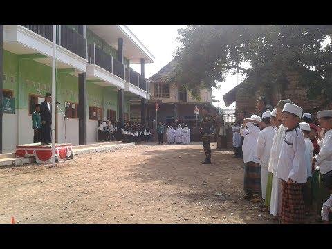 Upacara Peringatan Hari Santri Nasional Desa Pegiringan Tahun 2017