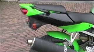 kawasaki ninja zx6r 2000 (micron exhaust)
