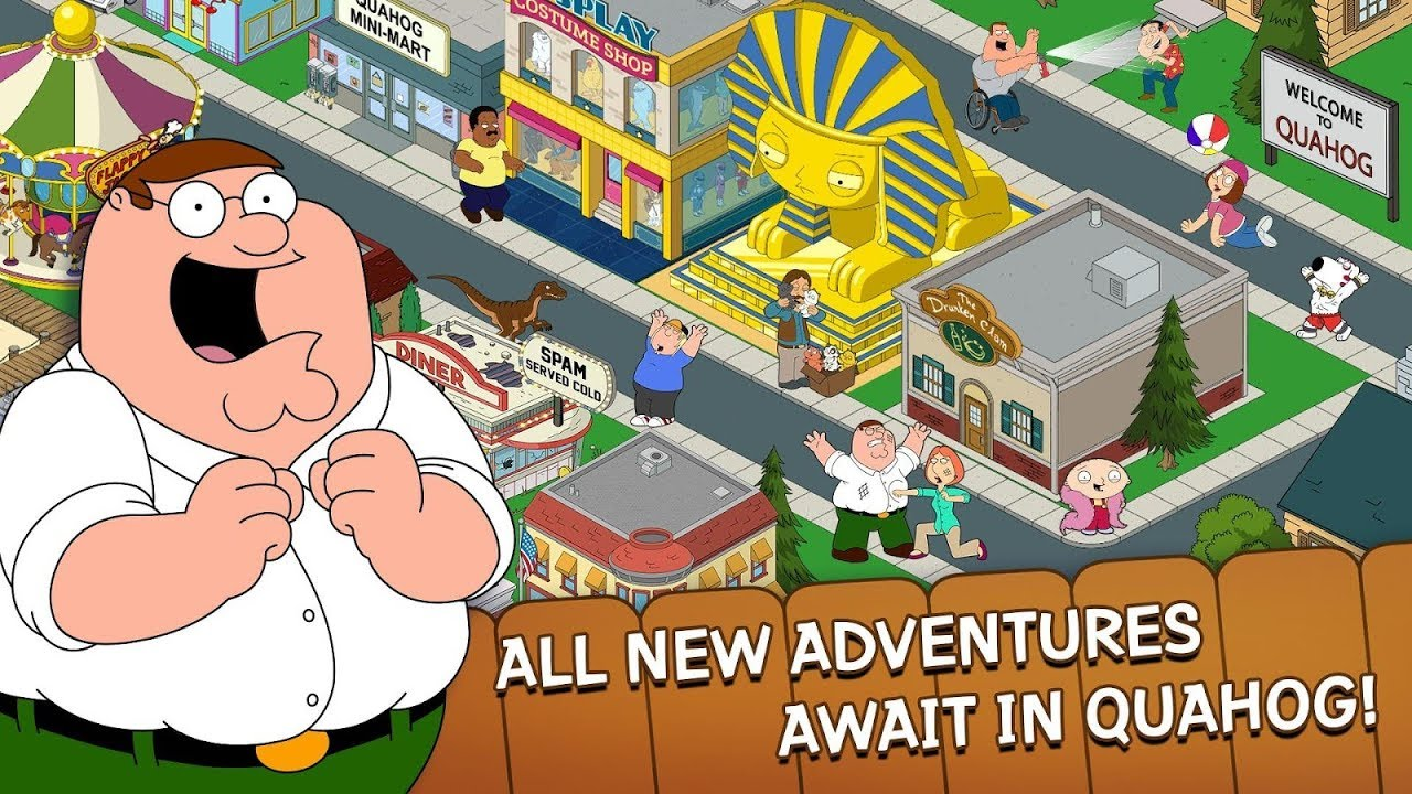 Download family guy the quest for stuff • apkmodapp.