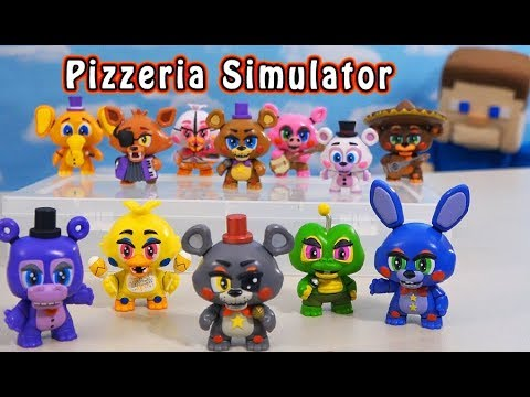 Five Nights at Freddy's Quest for ALL 12 Pizzeria Simulator Mystery Mini's! thumbnail