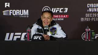 UFC 232: Cris Cyborg Post-Fight Press Conference
