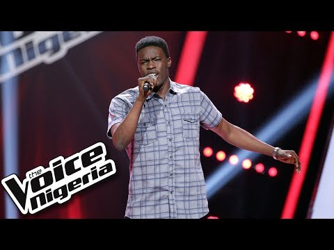 Afolayan Alabi Sings 'I Will Make Love To You' / Blind Auditions / The Voice Nigeria Season 2
