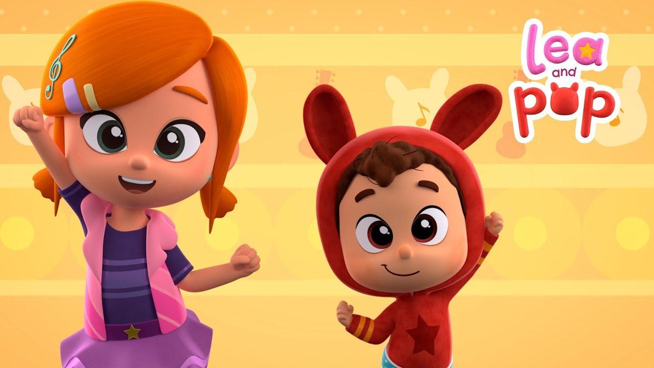 Download Paso a paso del baile A Ram Sam Sam de @Lea y Pop - canciones infantiles en español | Cocotoons