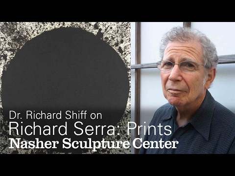 Experience Beyond Language: Richard Shiff on Richard Serra's Prints