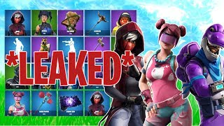 *NEW* LEAKED FORTNITE SKINS & EMOTES (Bubble Bomber, Bronto, Floss) - Fortnite Battle Royale