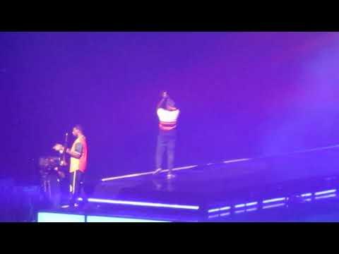 Bruno Mars Performing 'Runaway Baby' Prudential Center In Newark, NJ 10/2/2018