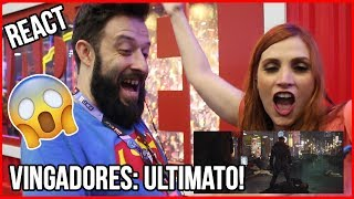😱 REACTION/REAÇÃO na CCXP 2018 | VINGADORES: ULTIMATO | TRAILER #1