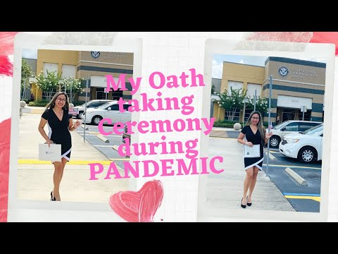 US CITIZENSHIP | OATH TAKING CEREMORY | PANDEMIC |2020