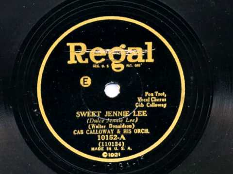 Sweet Jennie Lee by Cab Calloway and his Orchestra, 1930