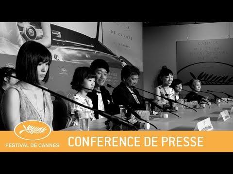 MANBIKI KAZOKU - Cannes 2018 - Conférence de Presse - VF