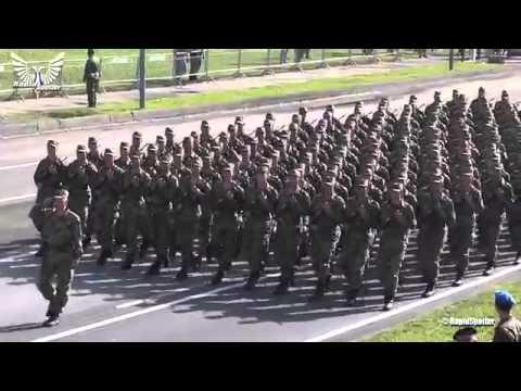 Rehearsal of military parade Belgrade 2014  part 1 1