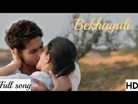 bekhayali-(kabir-singh)-video-song---mp3-song-sachet-tandon