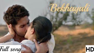 Bekhayali (Kabir Singh)Video Song-Mp3 Song  Sachet Tandon