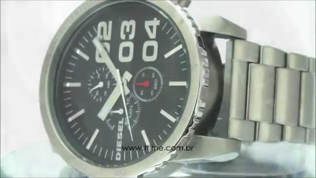 c9b98559496 Relógio Diesel IDZ4209Z - YouTube