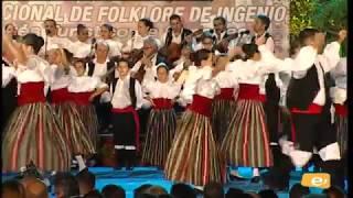 Actuación A.C. Coros y Danzas XX Festival de Folklore Villa de Ingenio