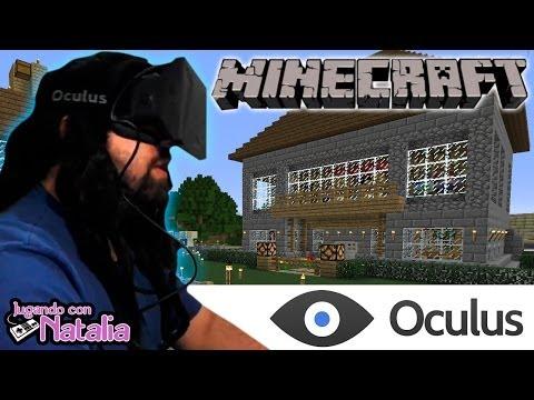 Vomitando con Natalia Virtual Minecraft! - Oculus Rift