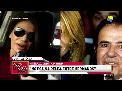 Escándalo en la familia Menem, la interna entre Bolocco y Zulemita