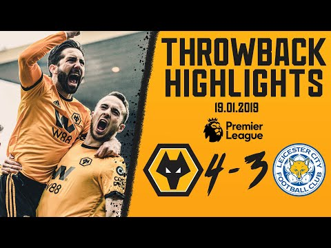 Diogo Jota hat-trick in a Premier League classic! Wolves 4-3 Leicester City | Throwback Highlights
