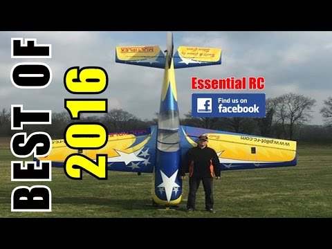① BEST OF ESSENTIAL RC 2016 | LARGE SCALE AND FAST RC ACTION