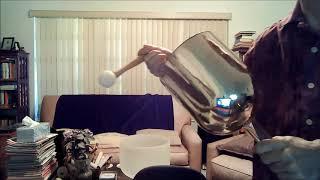 2 Minute Crystal Singing Bowls Meditation - Silver Alchemy Bowl - Jedi Shaman