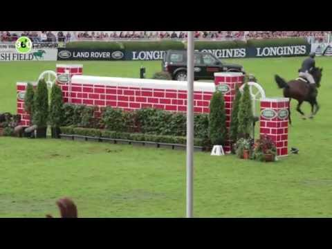 Discover Ireland Dublin Horse Show Puissance 2014