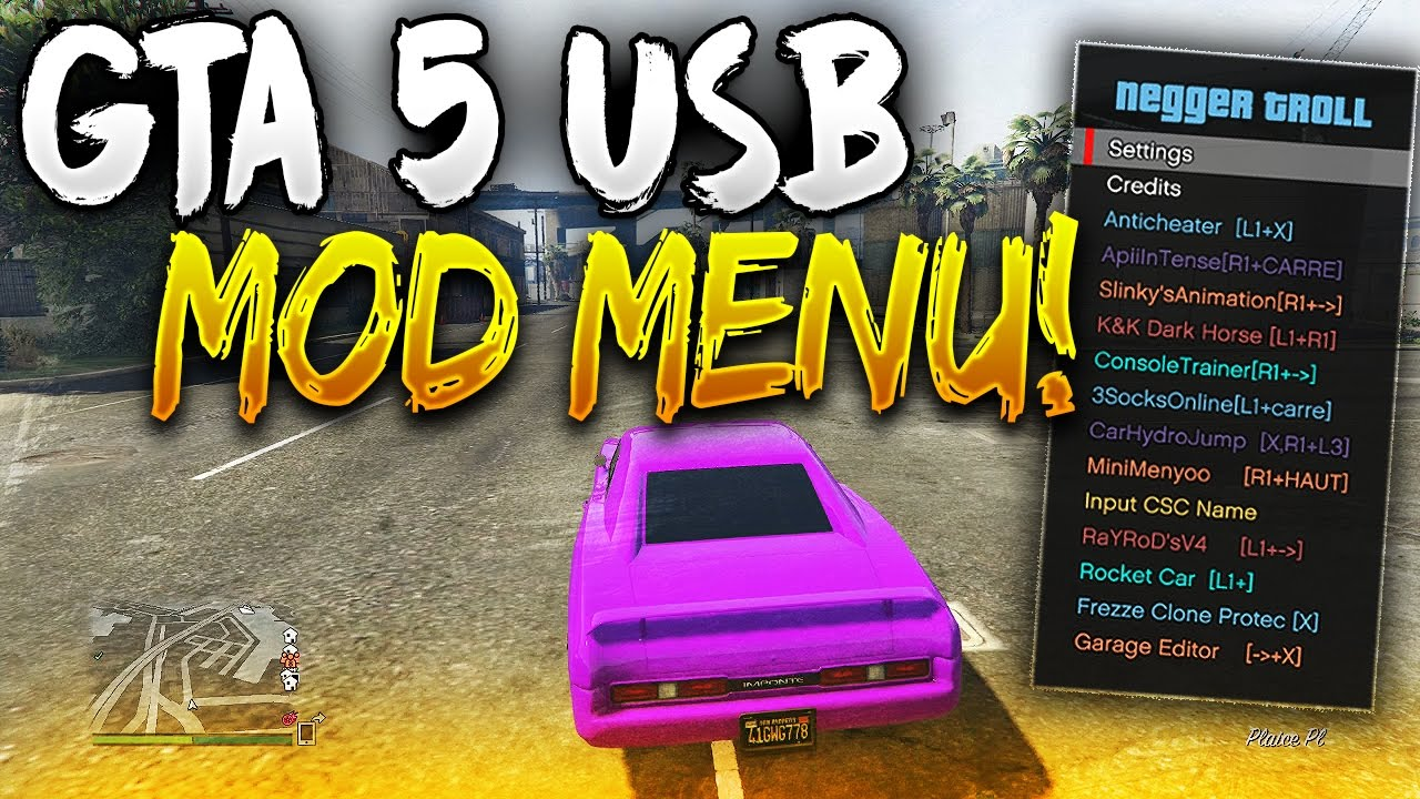 GTA 5 Online: *NEW* USB Mod Menu OFW Update for PS3!