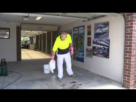 How to Prepare a Concrete Floor for Painting