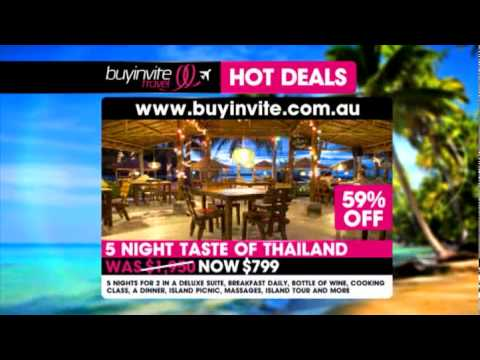 Buyinvite Travel Deal: Thailand & Cambodia