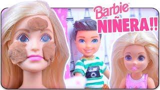Barbie Niñera Cuida de Niño Movido - Dreamhouse Adventures   Anima Toys