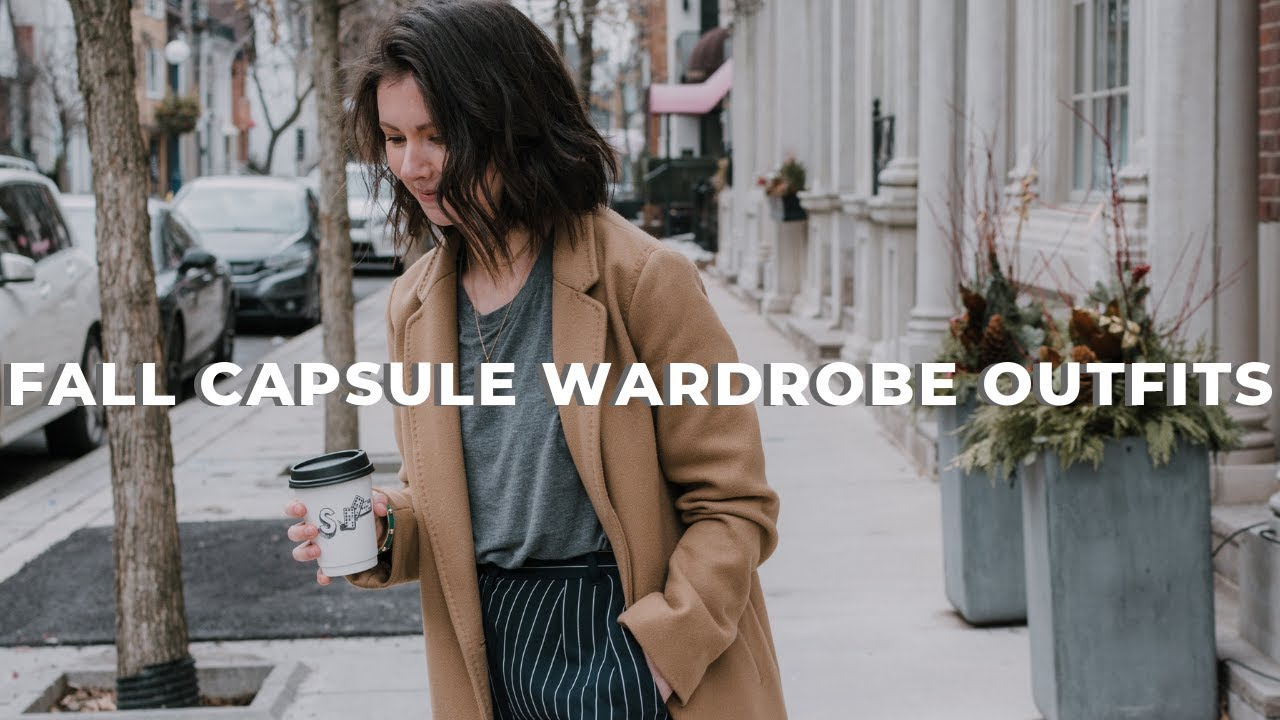 16 CASUAL FALL OUTFITS USING ONLY 10 WARDROBE BASICS