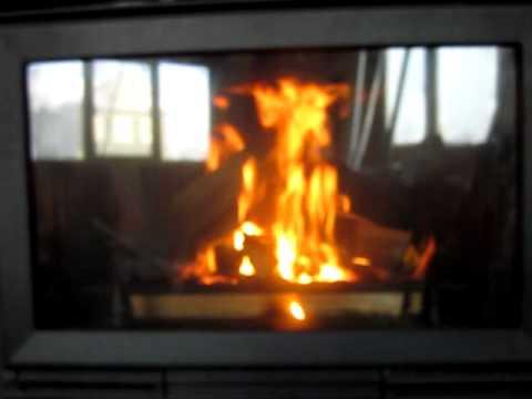 EdilKamin Ecostar шибер закрыт, медленное горение