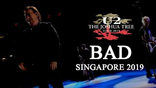 SINGAPORE surrenders to a 10 MINUTES LONG U2's BAD