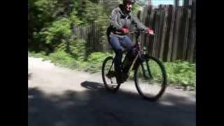 Установка мотор-колеса (электрокомплекта) на велосипед 26