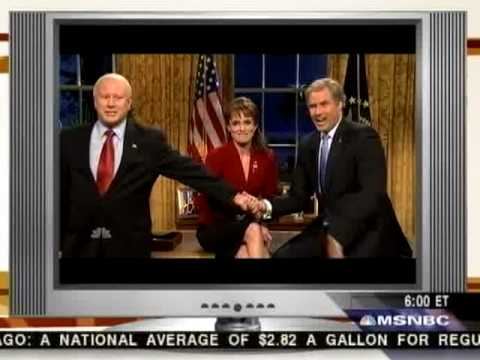 Thumbnail: Scarborough on SNL: MSNBC 10/24/08
