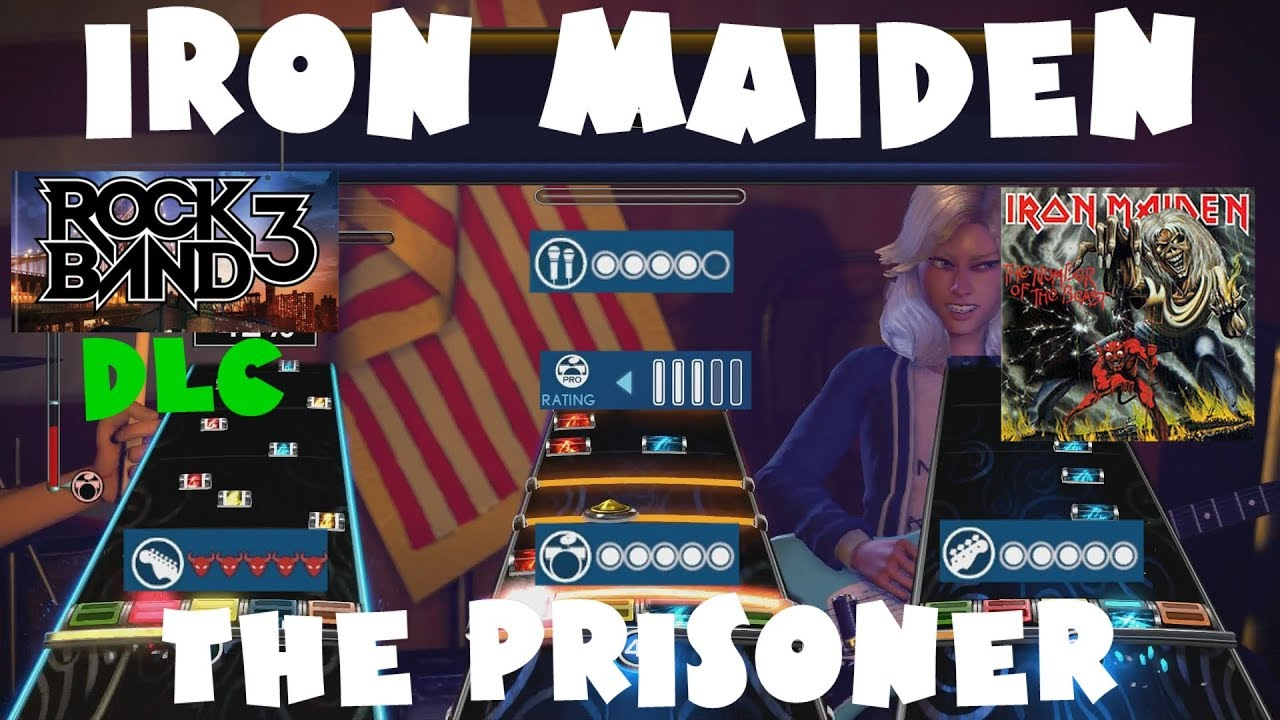 Iron Maiden - The Prisoner - Rock Band 3 DLC Expert Full Band (May 22nd,  2012)
