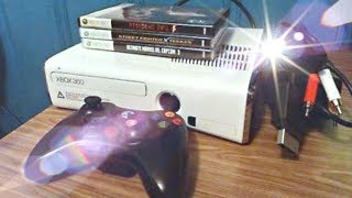 Xbox 360 slim White and chrome Edition 250GB unboxing