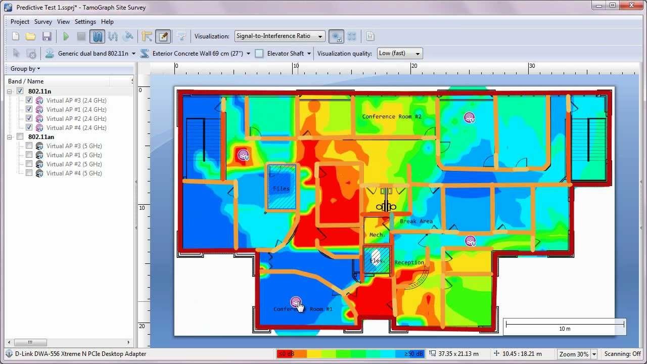 Wi-Fi Site Survey & Planning Software for 802 11 a/b/g/n/ac/ax WLANs