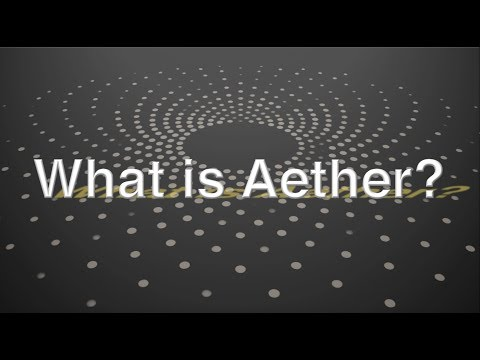 What Is Aether? A History Of The Debate About The Substance Of The Universe By Jeff Yee.