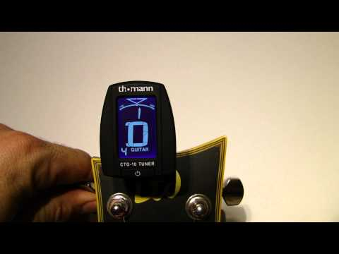 THOMANN CTG-10 CLIP TUNER guitar bass accordeur guitare HD 5 décembre 2011 19:37