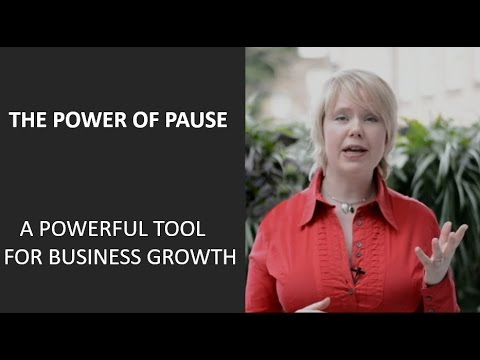 Power of Pause  - A powerful tool for business growth (The Business Instructor)