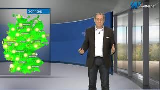 Ausflugs- und Fensterputzwetter - sonnig und recht mild (Mod.: Frank Böttcher)