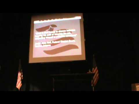 Sheriff Richard Mack Presentation in Thief River Falls, Minnesota, March 9, 2013, Part 2