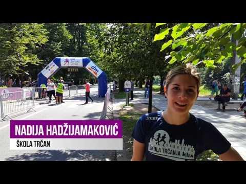 1. dm ženska utrka